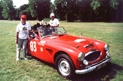 Peter and Ann with Healey